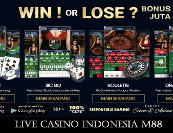 Live Casino Indonesia M88